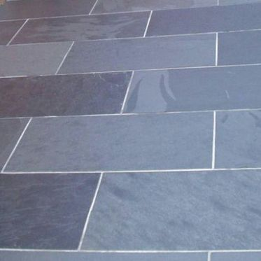 Brazilian Black Slate external paving tiles