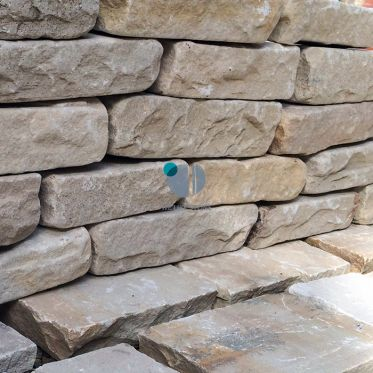 Fossil Mint Sandstone Walling Stone