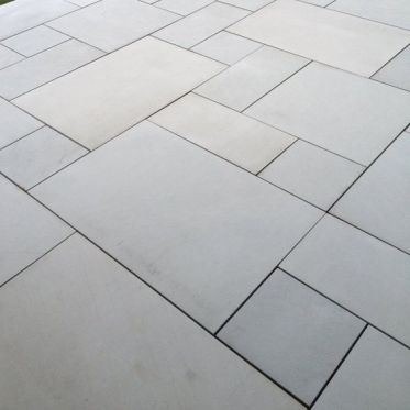 Kandla Grey Honed Sandstone Paving