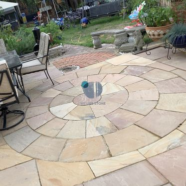 Modak Sandstone Paving Circle Kit