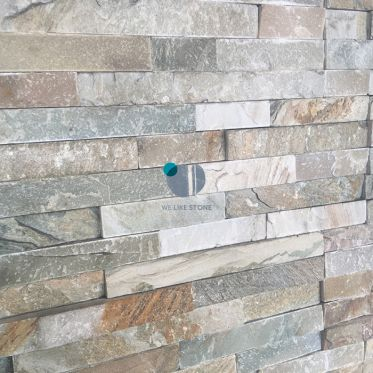 Oyster Riven Split Face Quartzite Tile