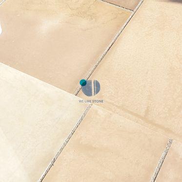 Raj Green Honed Sandstone Paving Slabs