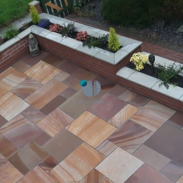 Rippon Rose Honed Sandstone Paving