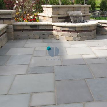 Kandla Grey Tumbled Sandstone Paving
