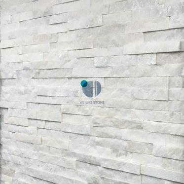 White Split Face Quartzite Tiles