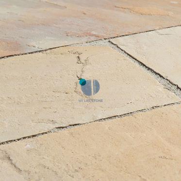Fossil Mint Riven Sandstone Paving