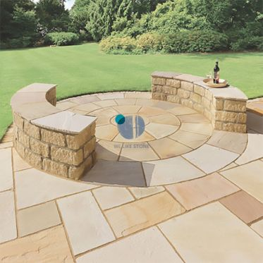 Golden_Brown_Sandstone_Circle_Sett_Kit